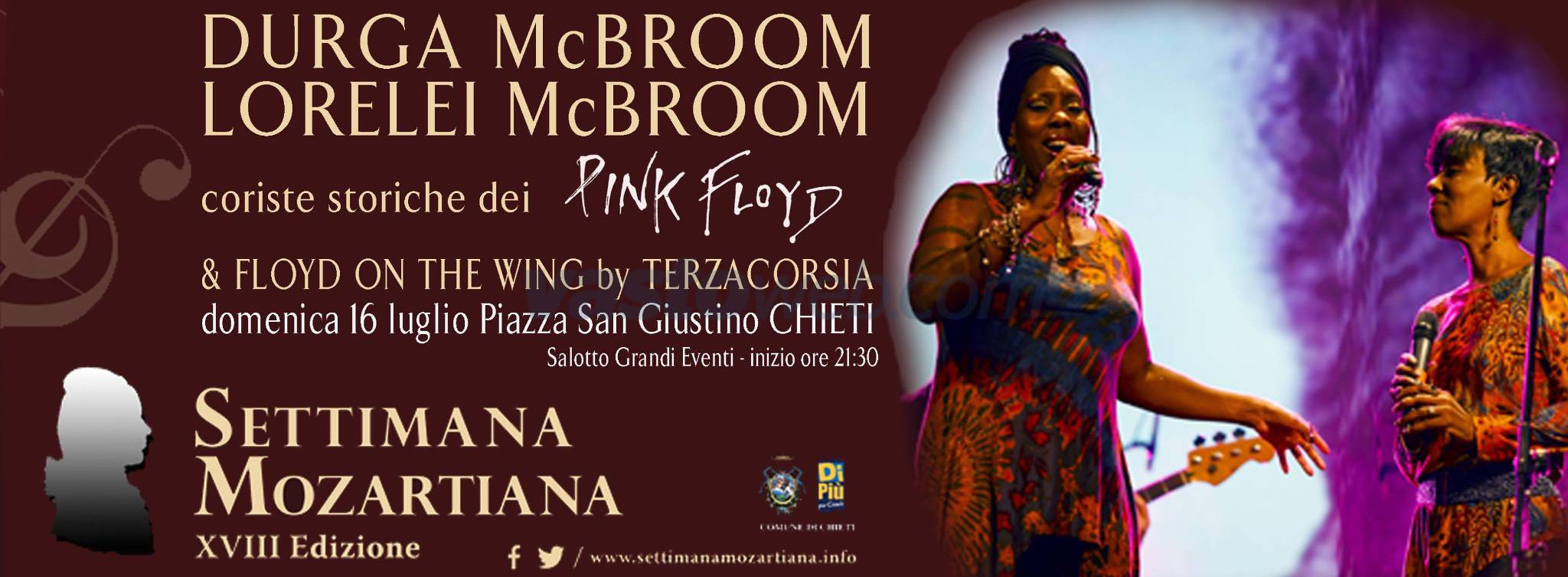 A Chieti le due coriste dei Pink Floyd insieme ai Floyd on the Wing by Terzacorsia