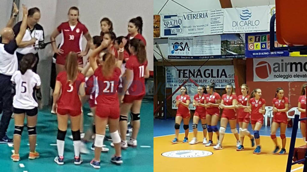 La Team Volley 30 vince nel campionato provinciale, in under 16 e 14