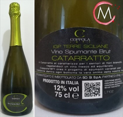 IGT Terre Siciliane Spumante Brut Catarratto