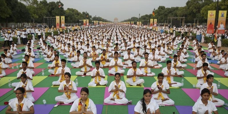 L'international yoga day