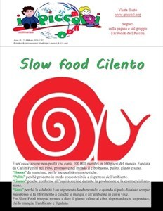 I Piccoli 0720 - Slow food Cilento