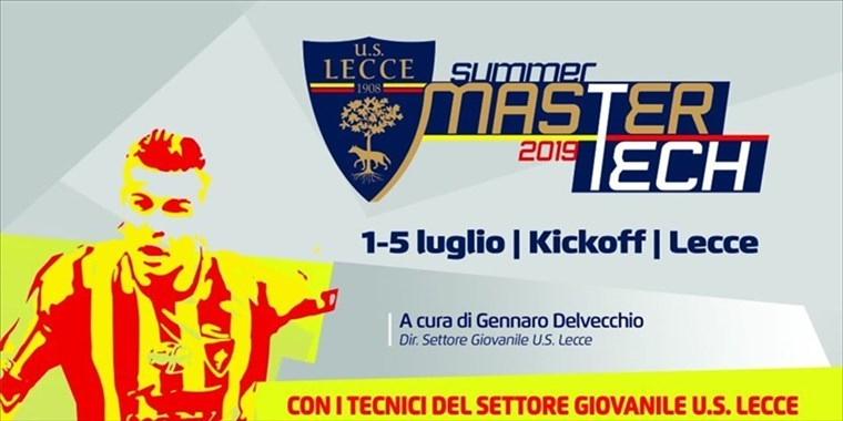 US LECCE SUMMER TECH 2019
