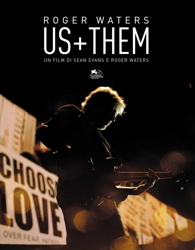 """Roger Waters - us + them"", il film- concerto alla Multisala Roma"
