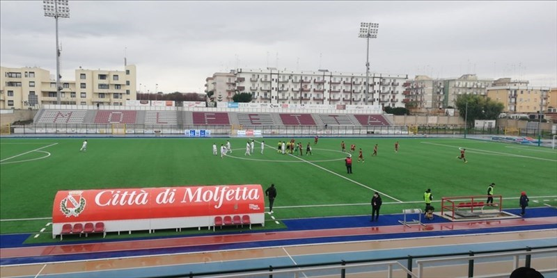Molfetta Calcio, è derby di alta classifica contro Bitonto