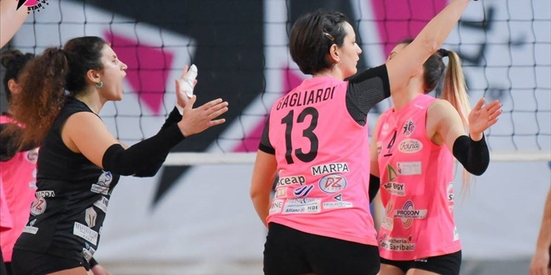 Star Volley Bisceglie implacabile, regolata la Dinamo Molfetta