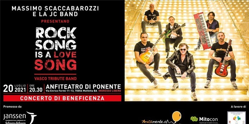 """Stasera il concerto di beneficienza """"Rock Song is a Love Song"""""""
