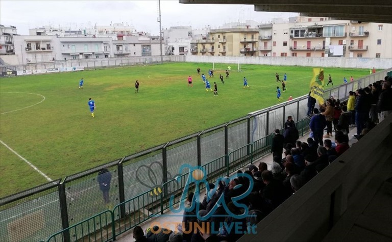 ASD Ostuni 1945 batte il Salento Football 2 – 0 e torna a vincere in casa