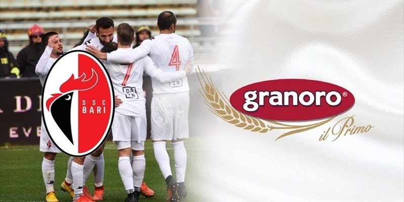 Granoro top sponsor dell'Ssc Bari