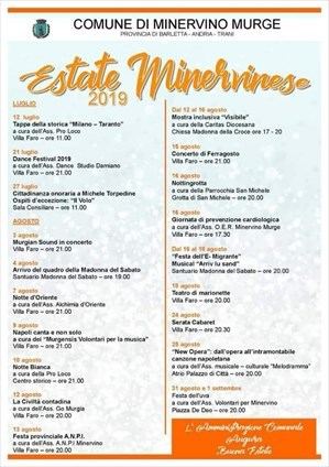 Programma Estate Minervinese
