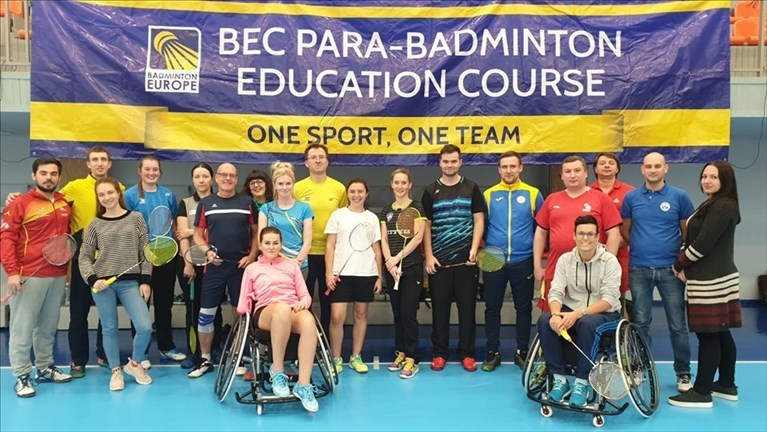 Terminato il meeting europeo di parabadminton