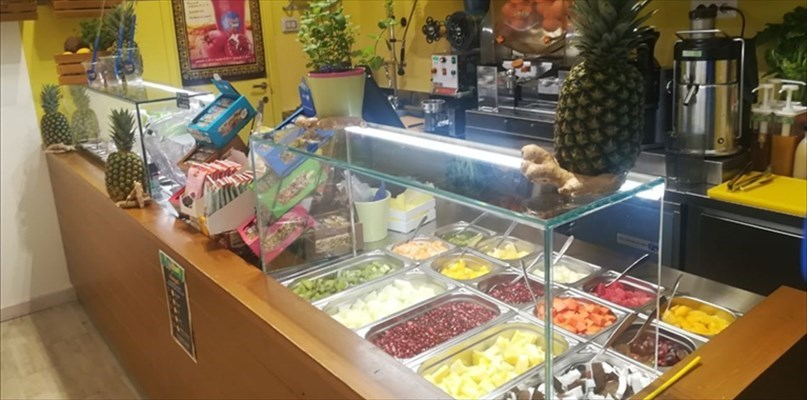 Gusto e genuinità Apre a Bari il Fruit Bar di Domenico e Gianni Altomare