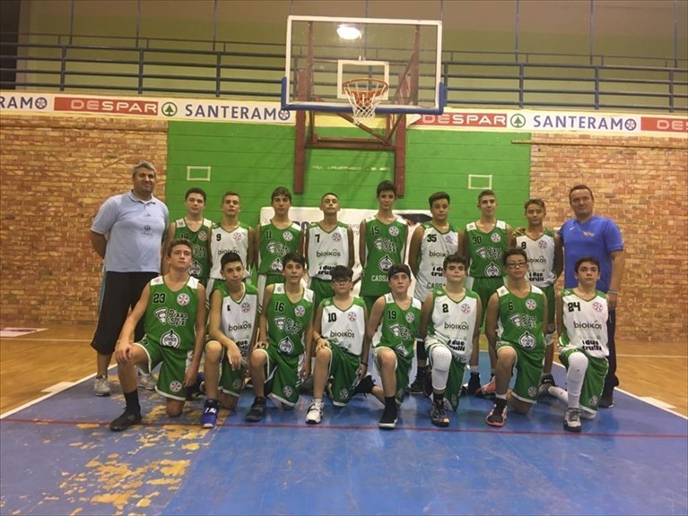 Under 14, domina la Murgiabasket Cassano