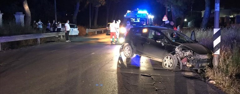 Incidente su via Castel del Monte