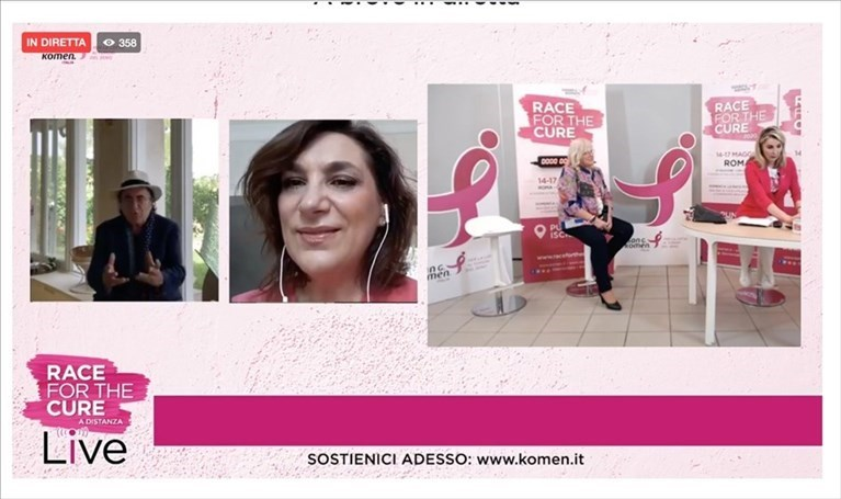 "Grande successo per la ""Race For The Cure"""