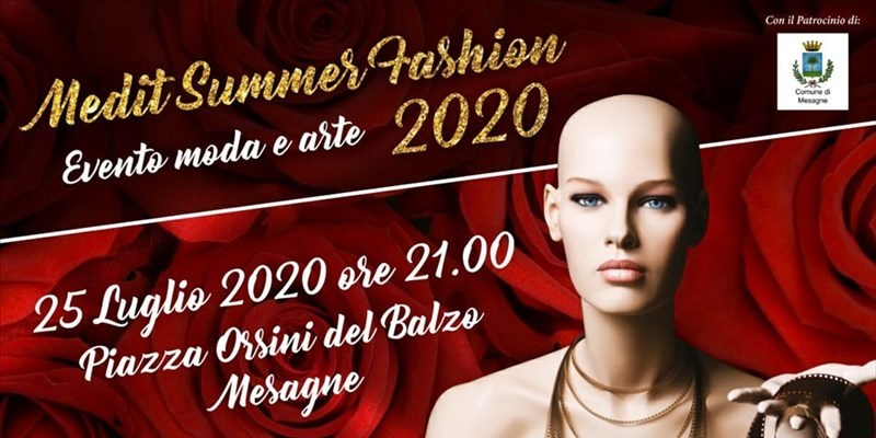 Medit Summer Fashion, tra gli stilisti emergenti il barlettano Angelo Scatigno
