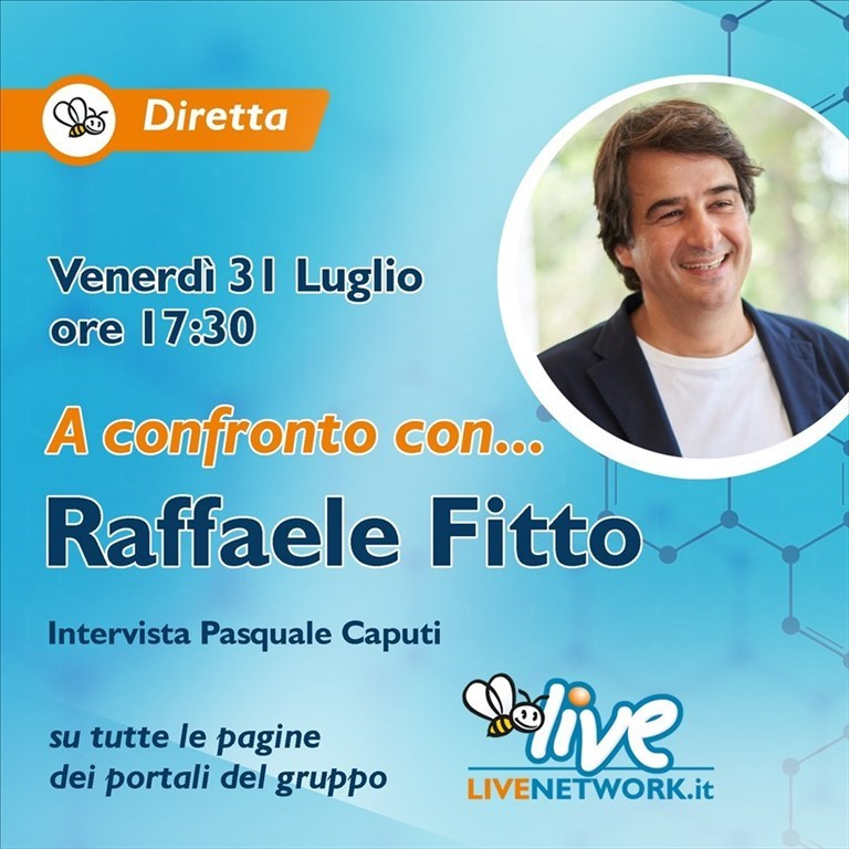 A confronto con Raffaele Fitto