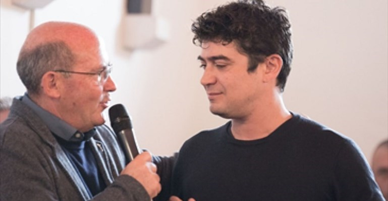 don Agresti e Riccardo Scamarcio