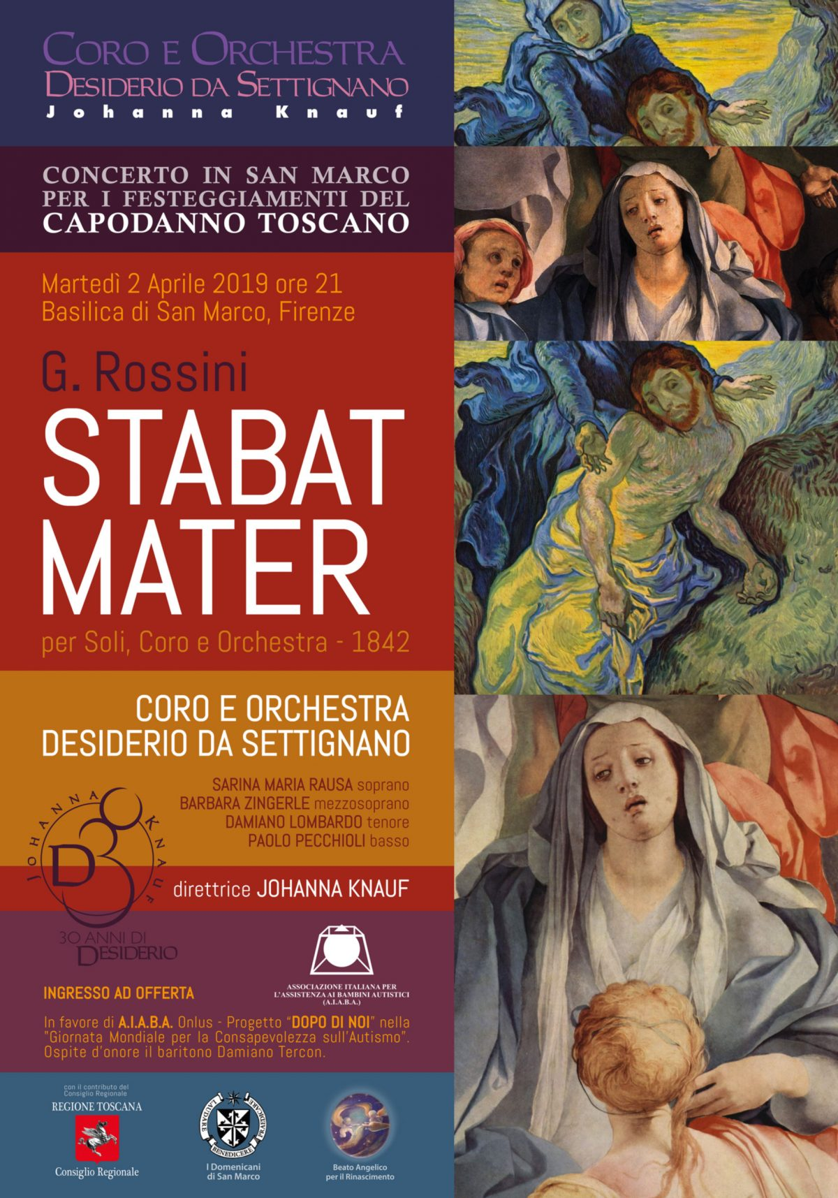 Lo Stabat Mater in San Marco a Firenze