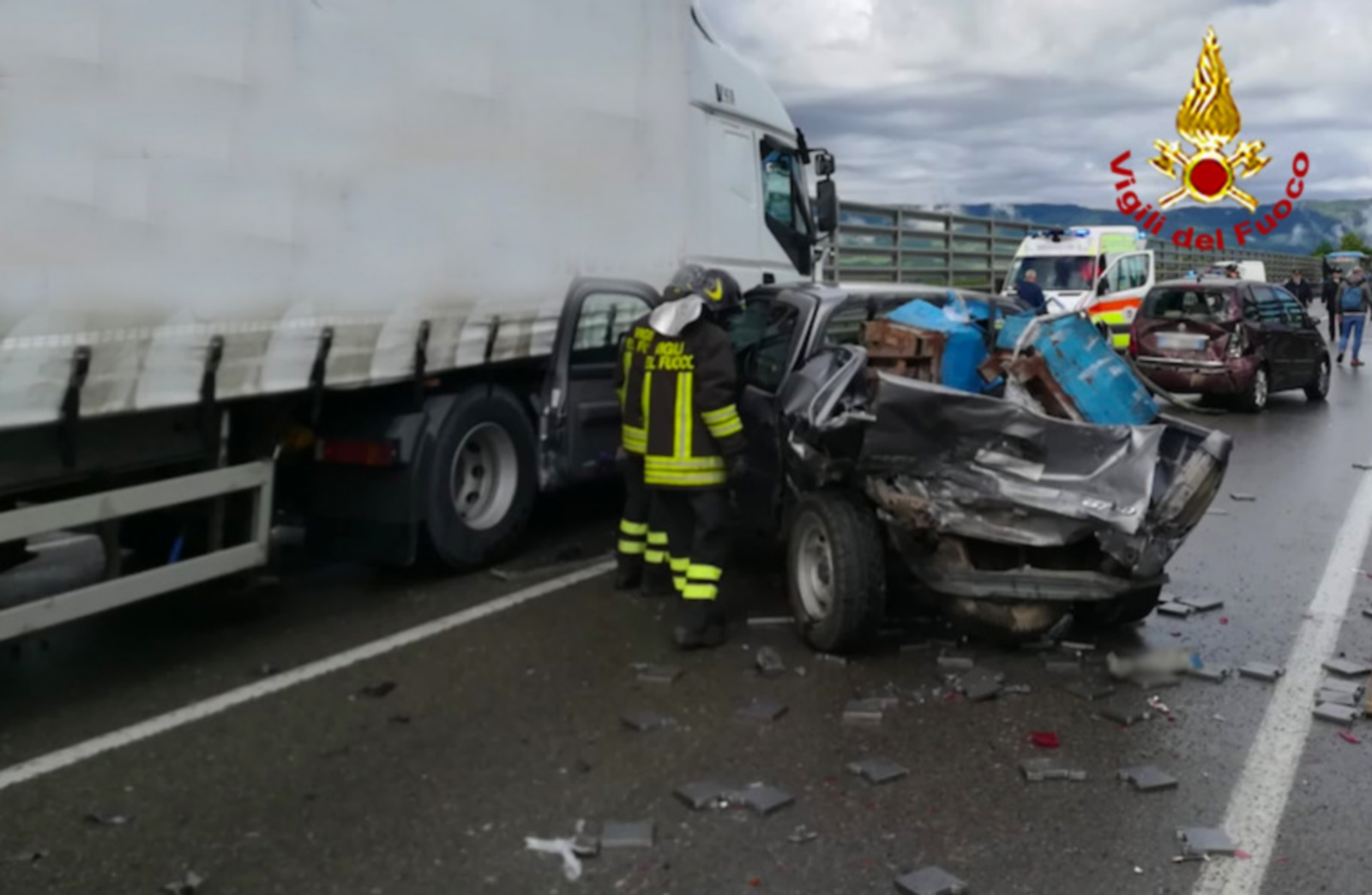 Strade di sangue in Mugello. Un altro incidente mortale stamani a Barberino