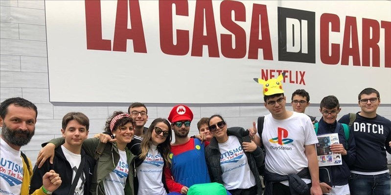 ​I ragazzi di Autismo On The Road al Lucca Comics and Games