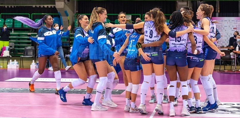Volley A1, il Bisonte Firenze vince con determinazione al Mandela Forum
