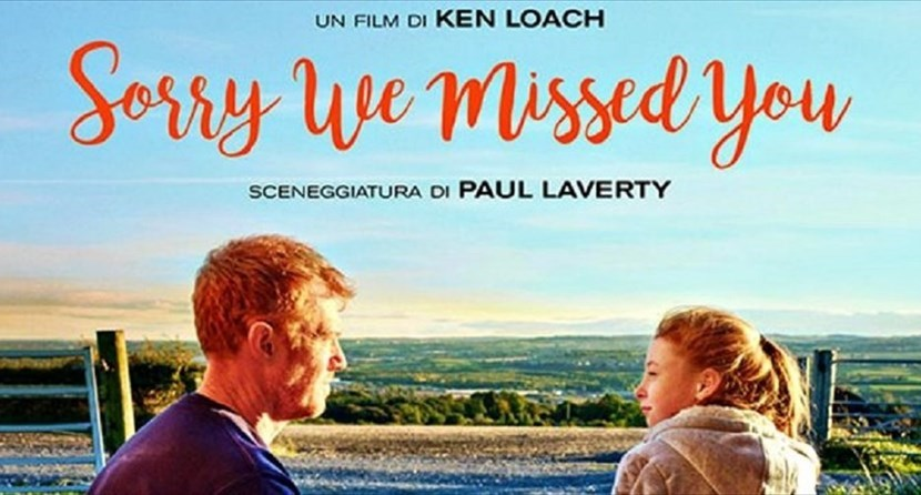 """Sorry, we missed you"", doppia proiezione al cinema Oddo"