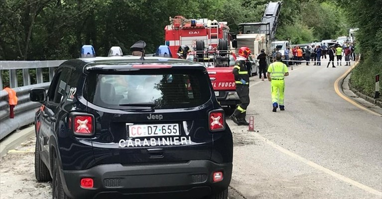 L'incidente a Colli a Volturno