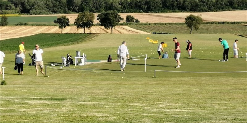 Un oasi a pochi km dalla città, boom per l open day al Golf club