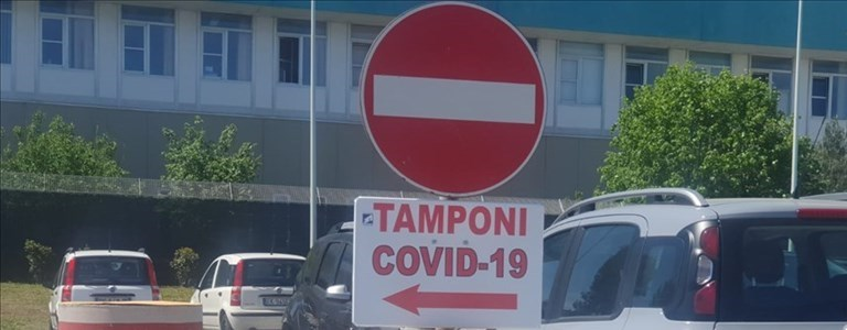 Tamponi all'ospedale San Timoteo