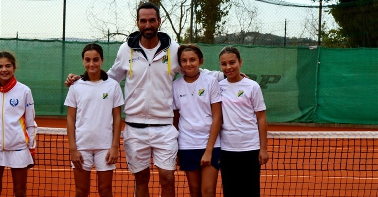 Al Ct Vasto l'Eur Sporting Club vince le Final 8 dell'under 12 femminile a squadre