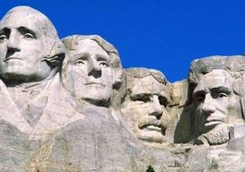 Monte Rushmore National Memorial, Dakota del Sud, Stati Uniti d'America